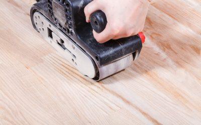 The 5 advantages of floor sanding